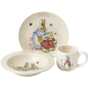 Beatrix Potter - Flopsy, Mopsy & Cotton-tail Nursery Set