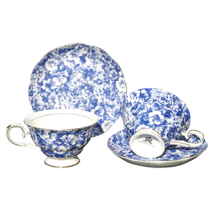 KH - Blue Meadow - Cup & Saucer Set