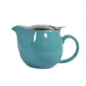 Brew Infusion Teapot - Maya Blue - Red Sparrow Tea Company