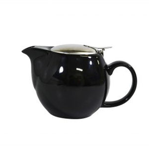 Brew Infusion Teapot - Onyx - Red Sparrow Tea Company