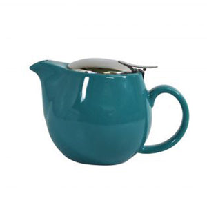 Brew Infusion Teapot - Teal - Red Sparrow Tea Company