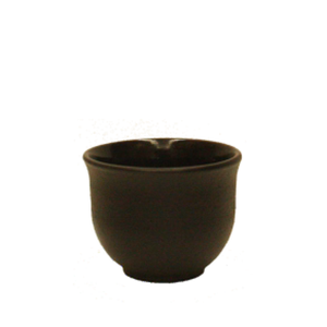 Cast Iron Cup - Black Curve
