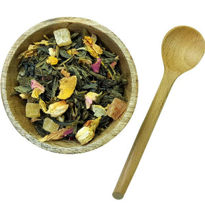 cherry tree green tea blend