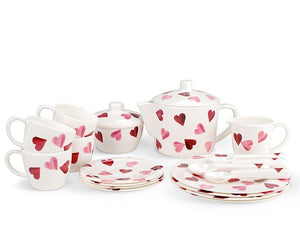 Emma Bridgewater - Belle & Boo - Pink Hearts House Tea Set