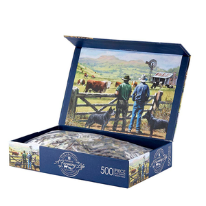 Ashdene - Farming Life - Observing The Herd - 500 Piece Puzzle