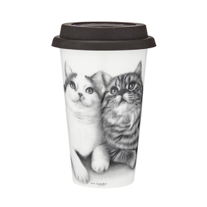 Ashdene - Feline Friends - Fixated Friends - Travel Mug