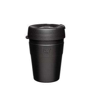 KeepCup - Thermal - Black - 12oz - Red Sparrow Tea Company