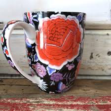 Anna Chandler - Flamenco Mug Set - Red Sparrow Tea Company