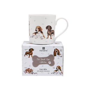 Ashdene - Kennel Club - Hound Breeds Mug - Red Sparrow Tea Company