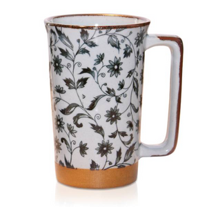 Japanese Tall Mug - Japan Flowers