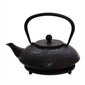 Cast Iron Teapot - Dragonfly Black