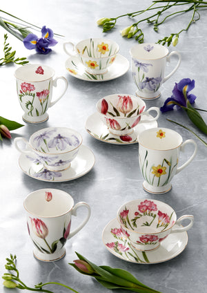 Ashdene - Floral Symphony - 4 Mug Set - Red Sparrow Tea Company