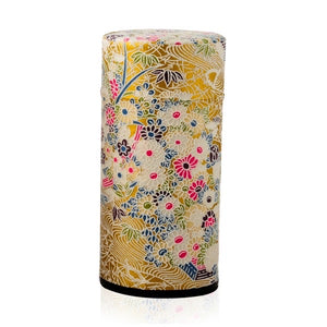Japanese Tea Canister - Lumi Gold - Red Sparrow Tea Company