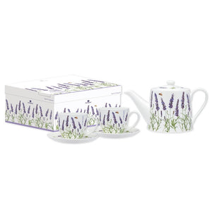 Ashdene - Lavender Fields - Teapot & Teacup Set - Red Sparrow Tea Company