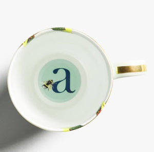 Yvonne Ellen - Alphabet Mug - J for Jaguar - Red Sparrow Tea Company