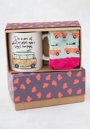 Mug & Cosy Sock Gift Set - Red Sparrow Tea Company
