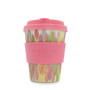 Eco Cup 12oz Sakura Pink - Red Sparrow Tea Company
