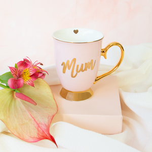 Cristina Re - Mum Mug - Blush & Gold - Red Sparrow Tea Company