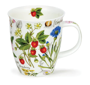 Dunoon - Mug - Floral Diary - Strawberry
