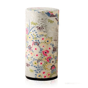 Japanese Tea Canister - Lumi Silver - Red Sparrow Tea Company