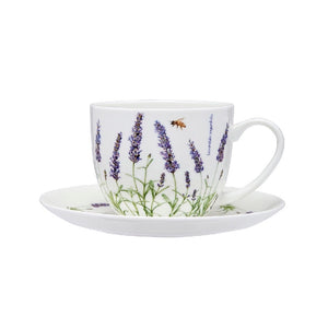 Ashdene - Lavender Fields - Cup & Saucer - Red Sparrow Tea Company