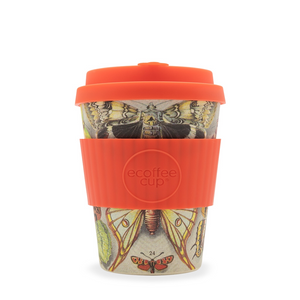 Eco Cup 12oz Farfalle - Red Sparrow Tea Company