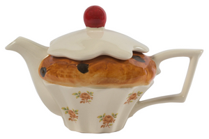 Novelty Teapot - Cupcake - 1 Cup - Red Sparrow Tea Company