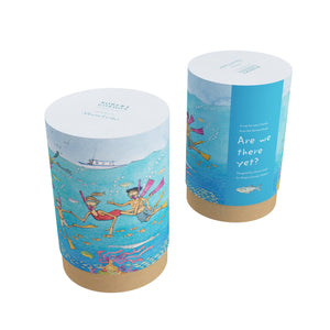 Alison Lester - Travel Mug - Are We There Yet? - Ocean - Red Sparrow Tea Company