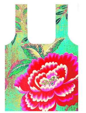 Anna Chandler - Fold Up Shopping Bag – Chinese Peony - Red Sparrow Tea Company