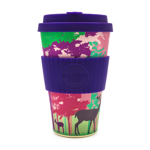Eco Cup 14oz Frankly My Deer - Red Sparrow Tea Company
