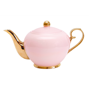 Cristina Re - Teapot Blush & Gold - 4 Cup - Red Sparrow Tea Company