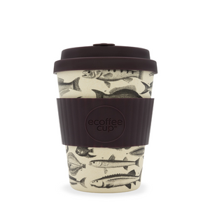 Eco Cup 12oz Toolondo Fish Man - Red Sparrow Tea Company