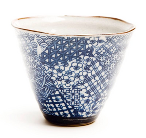 Japanese - Quilt Cone Cup - Red Sparrow Tea Company