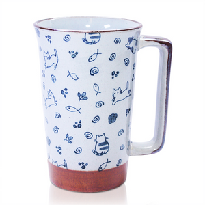 Japanese Tall Mug - Cute Kittens