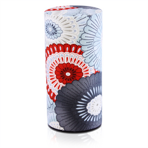 Japanese Tea Canister - Haru Red - Red Sparrow Tea Company