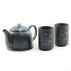 Japanese - Blue Botan Tea For Two Set - Red Sparrow Tea Company