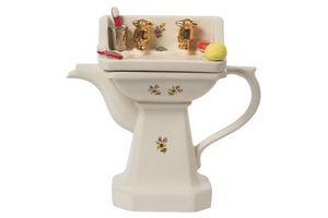 Novelty Teapot - Wash Basin - Red Sparrow Tea Company