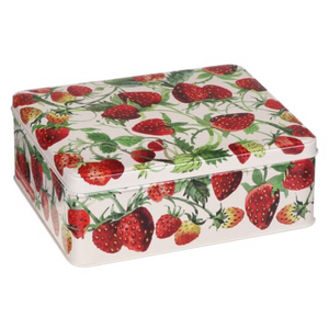 Emma Bridgewater - Strawberries - Deep Rectangular Tin
