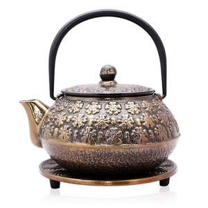 Cast Iron Teapot - Imperial Elegance - Red Sparrow Tea Company