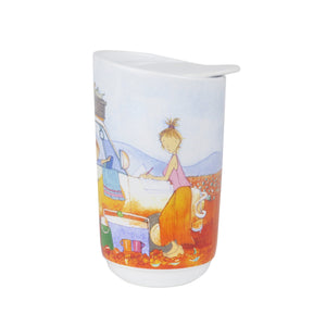 Alison Lester - Travel Mug - Are We There Yet? - Car - Red Sparrow Tea Company