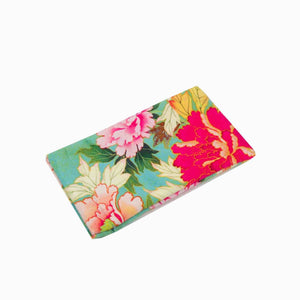 Anna Chandler - Tea Towel – Kimono Flowers - Red Sparrow Tea Company