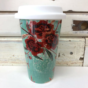 Anna Chandler - Keep Cup - Chintz Bird - Red Sparrow Tea Company