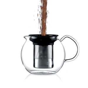 Bodum - Assam Tea Press 1L Shiny - Red Sparrow Tea Company