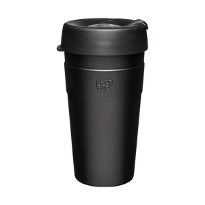 KeepCup - Thermal - Black - 16oz - Red Sparrow Tea Company
