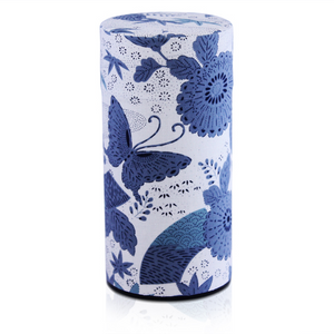 Japanese Tea Canister - Haru Blue - Red Sparrow Tea Company