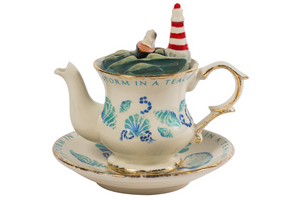 Novelty Teapot - Storm in a Teacup - Red Sparrow Tea Company