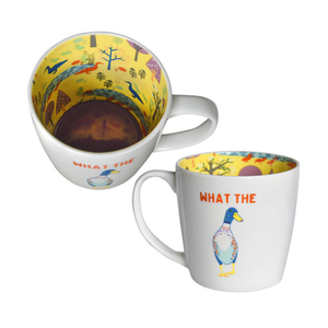 Inside Out Mug - What The Duck