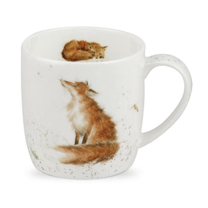 Royal Worcester - Wrendale - 'The Artful Poacher' Fox Mug