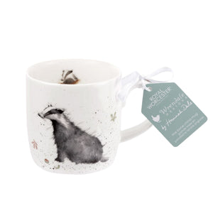 Royal Worcester - Wrendale - 'Country Gent' Badger Mug