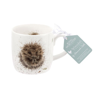 Royal Worcester - Wrendale - 'Awakening' Hedgehog Mug